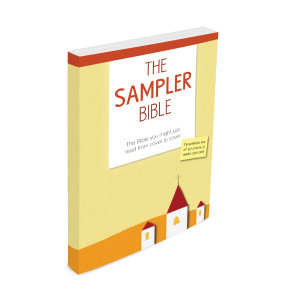 Sampler Bible Cover